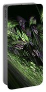Lilies Of The Fractal Valley Portable Battery Charger