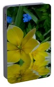 Lilium Of Gold Portable Battery Charger