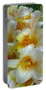 Lilium Regale Portable Battery Charger