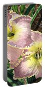 Lillies Clothed In Glory Portable Battery Charger