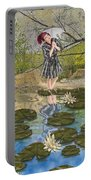 Lilly Pad Lane Portable Battery Charger