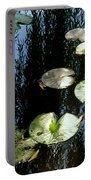 Lilly Pad Reflection Portable Battery Charger