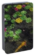 Lily 0147 - Watercolor 2 Sl Portable Battery Charger