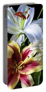 Lily Bouquet Portable Battery Charger