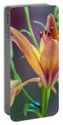 Lily From The Garden Portable Battery Charger