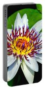 Lily On The Water Portable Battery Charger