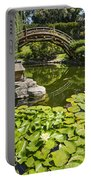Lily Pad Garden - Japanese Garden At The Huntington Library. Portable Battery Charger