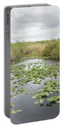 Lily Pads Floating On Water, Anhinga Portable Battery Charger