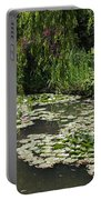 Lily Pads Monets Garden Portable Battery Charger