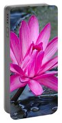 Lily Petals Portable Battery Charger