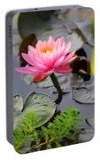 Lily Pink Portable Battery Charger