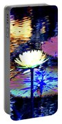 Lily Pond Fantasy Portable Battery Charger