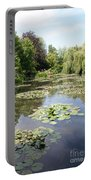 Lily Pond - Monets Garden Portable Battery Charger