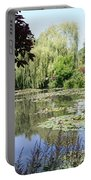 Lily Pond - Monets Garden - France Portable Battery Charger