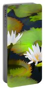 Lily Pond Bristol Rhode Island Portable Battery Charger