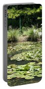 Lily Pond View Monets Garden Portable Battery Charger