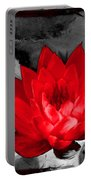 Lily Red And Koi Portable Battery Charger