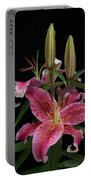 Lily With Buds Portable Battery Charger
