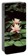 Lilypad And Lotus Portable Battery Charger