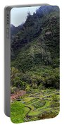 Limahuli Taro Fields In Kauai Portable Battery Charger