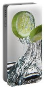 Lime Freshsplash Portable Battery Charger