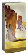 Lime Rock Quarry II Portable Battery Charger by Edward Hopper