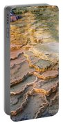 Limestone Terraces Yellowstone National Park Portable Battery Charger