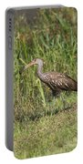 Limpkin With Apple Snail Portable Battery Charger