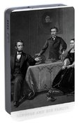 Lincoln And Family Portable Battery Charger