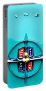 Lincoln Continental Rear Emblem Portable Battery Charger by Jill Reger