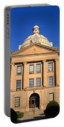Lincoln Illinois - Courthouse Portable Battery Charger