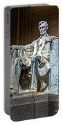 Lincoln In Memorial Portable Battery Charger