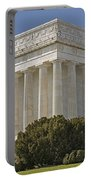 Lincoln Memorial Pillars Portable Battery Charger