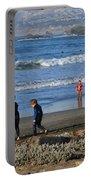 Linda Mar Beach Families Portable Battery Charger