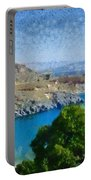 Lindos Beach Portable Battery Charger