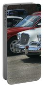 A Line Up Of Vintage Cars Portable Battery Charger