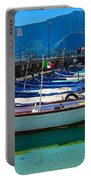 Lined Up Fleet In Sicily Portable Battery Charger