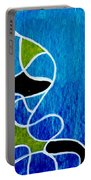 Linework Blue Portable Battery Charger