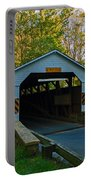 Linton Stevens Covered Bridge Portable Battery Charger