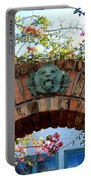 Lion Arch With Flowers Portable Battery Charger