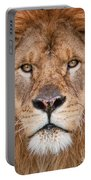 Lion Close Up Portable Battery Charger