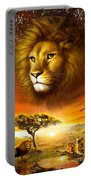Lion Dawn Portable Battery Charger by Adrian Chesterman