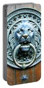 Lion Door Knocker In Norway Portable Battery Charger