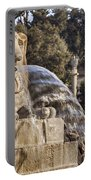 Lion Fountain In Rome Italy Portable Battery Charger