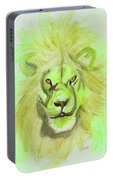 Lion Green Portable Battery Charger
