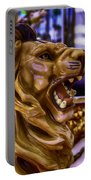 Lion Roaring Carrousel Ride Portable Battery Charger