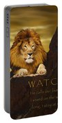 Lion Watchman Portable Battery Charger