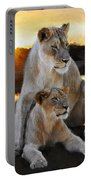 Lioness Protector Portable Battery Charger
