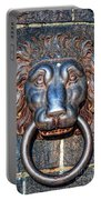 Lions Head Knocker Portable Battery Charger
