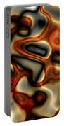 Liquid Mercury And Rust Portable Battery Charger